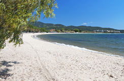 Scenic beach at Chalkidiki in Greece Stock Image