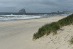 Scenic beach scene Stock Photos