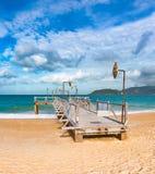Scenic beautiful view of Nha Trang beach stock images