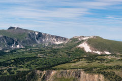 The Scenic Beauty of the Colorado Rocky Mountains Stock Photo