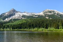 The Scenic Beauty of the Colorado Rocky Mountains Royalty Free Stock Photos