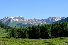 The Scenic Beauty of the Colorado Rocky Mountains Royalty Free Stock Photography