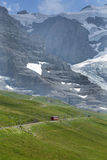 Scenic beauty of Switzerland and the Cog Railway Royalty Free Stock Images