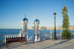 Scenic Benidorm view Stock Photos