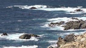 Scenic Big Sur Coast stock footage