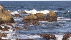 Scenic Big Sur Coastline stock video