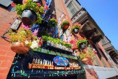 Scenic Boston North End Streets. USA, Scenic Boston North End Streets royalty free stock images