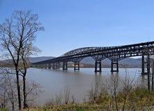 Scenic Bridge. Newburgh-Beacon Bridge crossing the Hudson River in New York Stock Photography