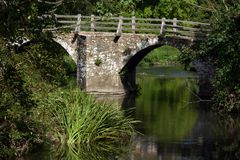 Scenic bridge Stock Images