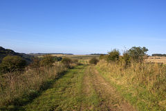 Scenic bridleway Stock Photography