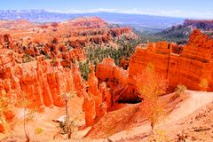 Scenic Bryce Canyon National Park Royalty Free Stock Images