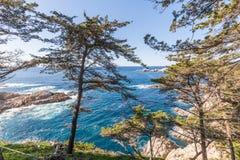 Scenic California Coast Landscape Stock Photos