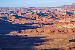 Scenic Canyonlands Utah Landscape. The scenic landscape in Canyonlands National Park Utah Royalty Free Stock Photo