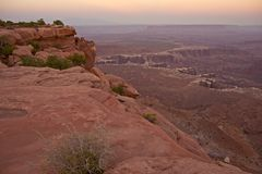Scenic Canyonlands Utah Stock Image