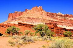 Scenic Capital Reef National Park Stock Images