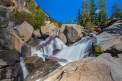 Scenic Cascading Waterfall Stock Images