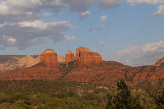 Scenic Cathedral Rock Landscape Sedona Arizona Royalty Free Stock Photography