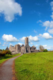 Scenic celtic architecture in the west of ireland. Vibrant scenic celtic architecture in the west of ireland Stock Photos
