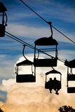 Scenic Chair lift Royalty Free Stock Photography