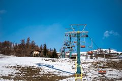 Scenic Chair Lift Rides stock photo