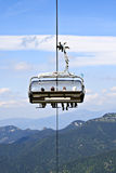 Scenic chairlift  Royalty Free Stock Photography