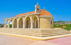The scenic church Stock Image