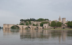 The scenic cityscape of Avignon Stock Images
