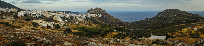 Scenic cityscape, Kythira, Greece royalty free stock photography