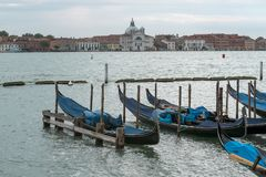 Scenic cityscape from Venice royalty free stock photo
