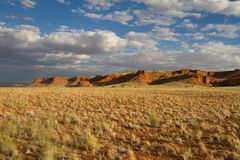 Scenic cliff in Namibia Royalty Free Stock Photo