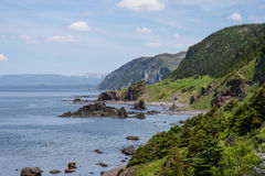 Scenic cliffs Royalty Free Stock Images