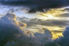 Scenic cloud sunset sky background, Nature composition cloudscape. Scenic cloud sunset sky background, Nature composition cloudscape royalty free stock photos