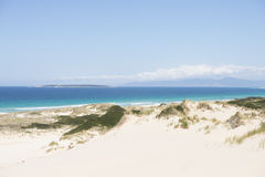 Scenic coast Bay of Fires Tasmania Stock Photos