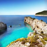 Coast Landscape Beaches, Greek Islands, Cyclades. Scenic coast landscape and beaches, Greek Islands. Cyclades - Greece. Europe royalty free stock photos