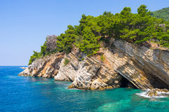The scenic coast Royalty Free Stock Photos