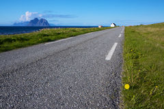 Scenic coastal road Royalty Free Stock Image