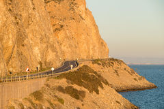 Scenic coastal road Royalty Free Stock Images
