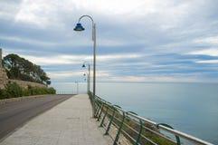Scenic coastal road Royalty Free Stock Photos