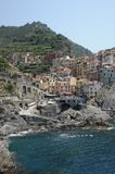 Scenic coastal village of Manorola, Italy Stock Photo