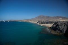 Scenic coastline Stock Photography