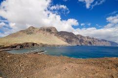Scenic coastline landscape, Punta de Teno, Tenerife Canary Island, Spain. Royalty Free Stock Image