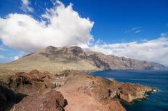 Scenic coastline landscape, Punta de Teno, Tenerife Canary Island, Spain. Stock Image