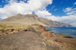 Scenic coastline landscape, Punta de Teno, Tenerife Canary Island, Spain. Royalty Free Stock Photo