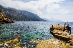 Scenic coastline of Mallorca, Spain Royalty Free Stock Photo