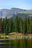 Scenic Colorado Echo Lake Stock Image
