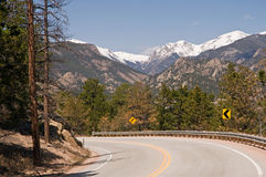 Free Scenic Colorado Highway Royalty Free Stock Images - 9187459