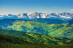 Scenic Colorado Mountains Royalty Free Stock Photos