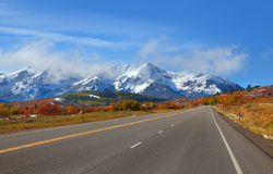 Scenic Colorado road #62 Royalty Free Stock Image