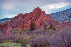 Scenic Colorado Rock Royalty Free Stock Photo