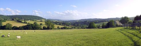 Scenic Cotswolds Stock Photography